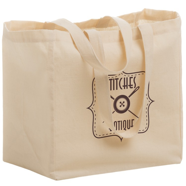 Cotton Canvas Grocery Bag - CN13513 - Silk Screened