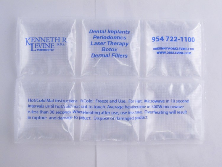 Hot / Cold INSULATED Mats 4x6 Made in USA Gel Pack Style uses Purified Water