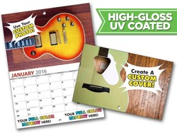 13 Month MINI Custom Photo Appointment Wall Calendar (5.5x8.5) - High Gloss UV Coated Cover