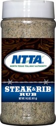 Steak & Rib Dry Rub (pint plastic bottle)