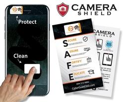 Camera Shield Microfiber Screen Cleaner Sticker