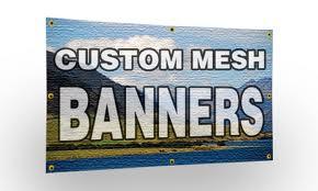 Outdoor Mesh Banner