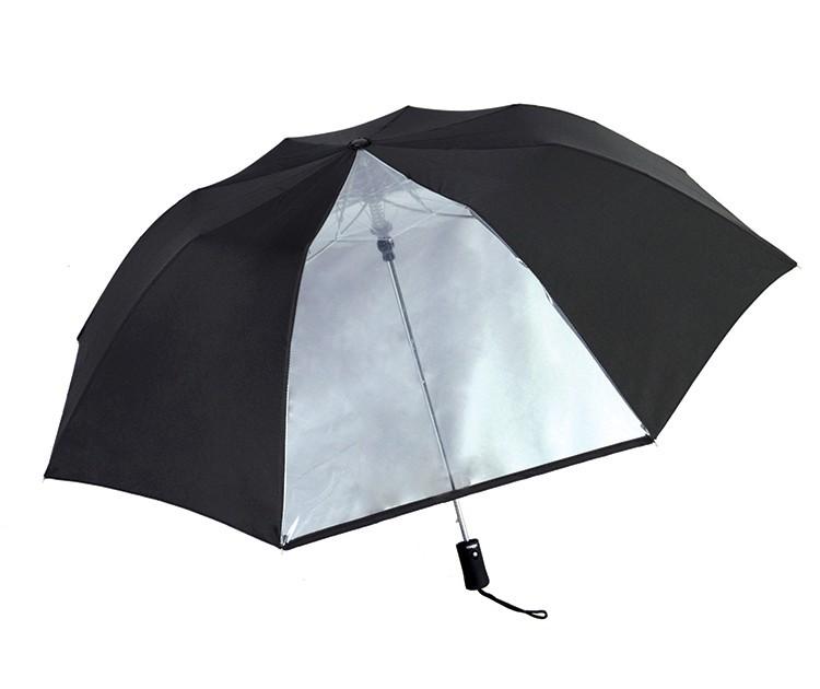 43 Inch Folding 7&1 Clear Panel Auto Open Compact Umbrella SALE plus BONUS