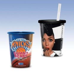 Visstun®-17oz-Reusable Clear Plastic Cup-Hi-Definition Full-Color, Top-Shelf Dishwasher Safe - Visstun®-17oz-Reusable Clear Plastic Cup-Hi-Definition Full-Color, Top-Shelf Dishwasher Safe