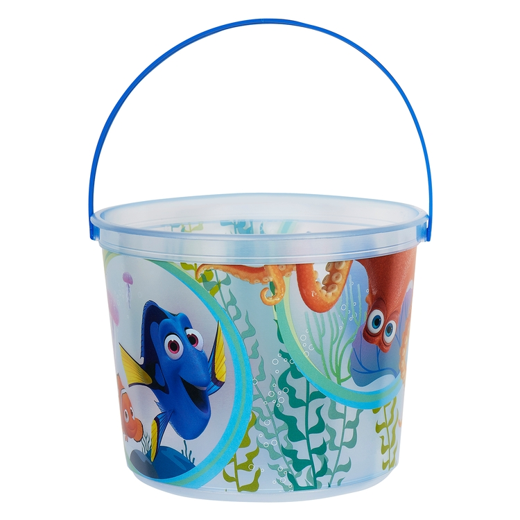 64 oz. Plastic Bucket & Handle w/Full Color In Mold Labeling