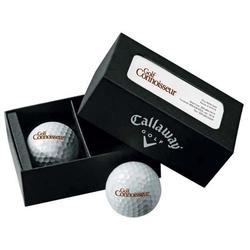Callaway(R) 2-Ball Business Card Box - HEX Diablo