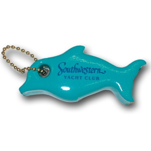 Dolphin Key Float - Swimming Dolphin Keyfloat