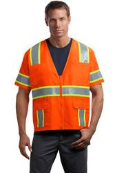 CornerStone - ANSI Class 3 Dual-Color Safety Vest.