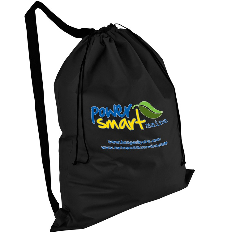Non-woven Heavy Duty Laundry Bag with Locking Cinch Closure