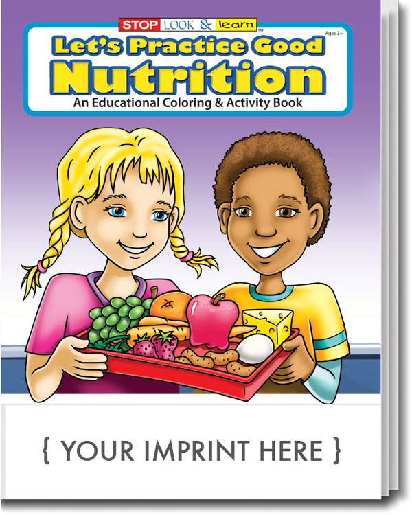 COLORING BOOK - Let's Practice Good Nutrition Coloring & Activity Book