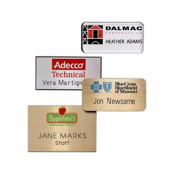 Hollywood Name Badge (Custom sized between 3 and 6 sq. in.)