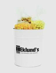 3 Gallon Popcorn Tins- Trio (Butter, Cheddar, Caramel)