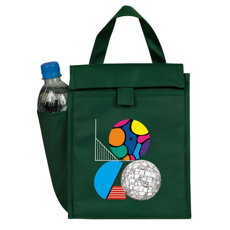 eGREEN Lunch Bag w/ Bottle Pocket - eGREEN Bags/Brief & Insulated Bags