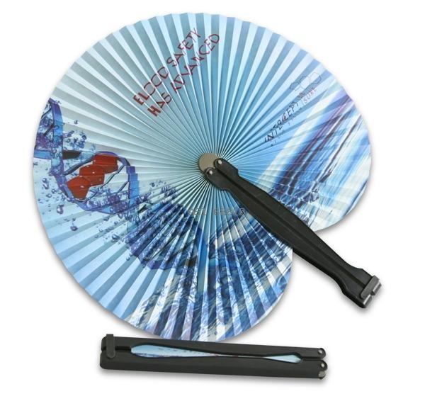 folding paper fan custom printed 17300 fanprinter
