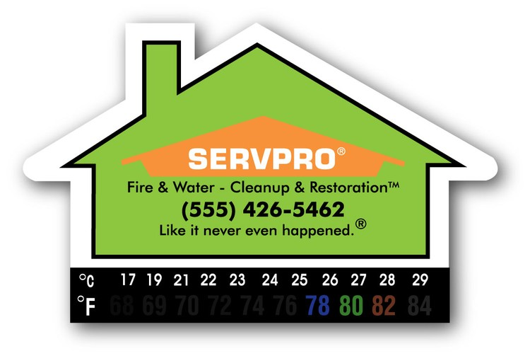 House Thermometer Magnet