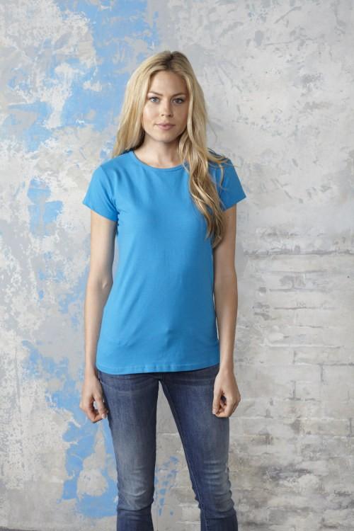 Ladies Short Sleeve Crew Neck T-Shirt