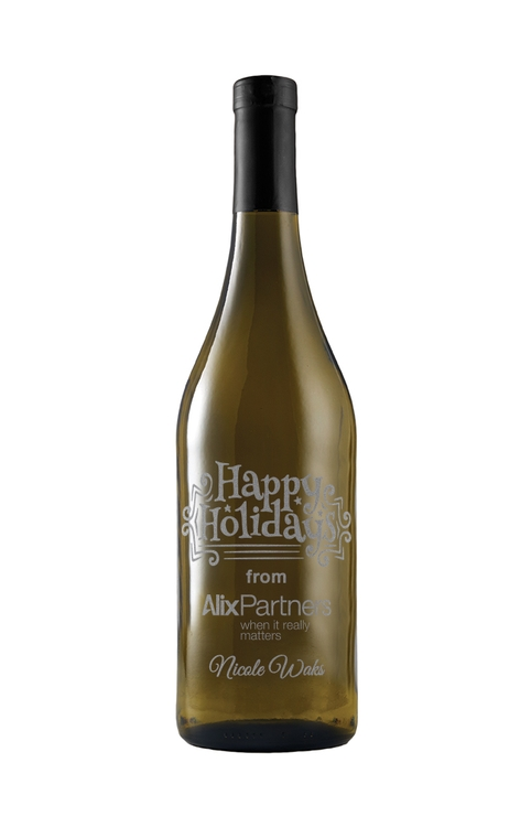 Etched Chardonnay White Wine - 750ml