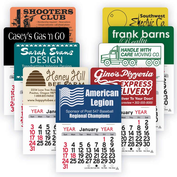 Peel-N-Stick&#8482 Calendars - SD-Standard Pad