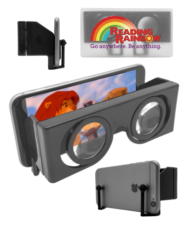 Union Printed, 3D VR Virtual Reality Glasses - Full Color