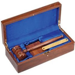 Deluxe Gavel Set