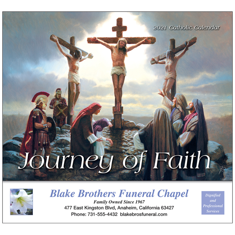 Journey Of Faith Appointment Calendar, Catholic Version