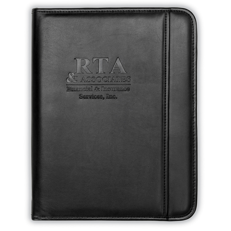 Professional™ Zippered Padfolio w/ iPad Pocket